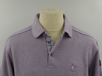 Pull col polo parme