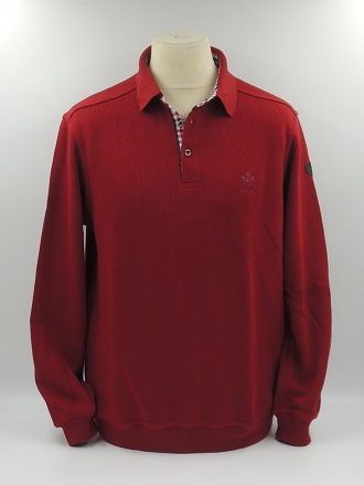 pull col polo rouge hermès
